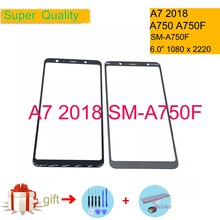 Touchscreen For Samsung Galaxy A7 2018 A750 A750F SM-A750F Touch Screen Front Glass Panel Outer Glass Lens NO LCD Digitizer