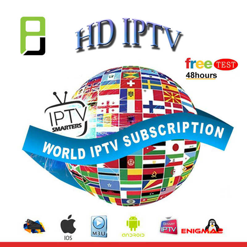 The World IPTV Subscription 6000 live free test for iptv box M3U h96 max Android TV box french arabic Germany Enigmas2 Smart tv