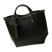 Wholesale5*Women messenger bag Women's leather handbags lady shoulder bag-black