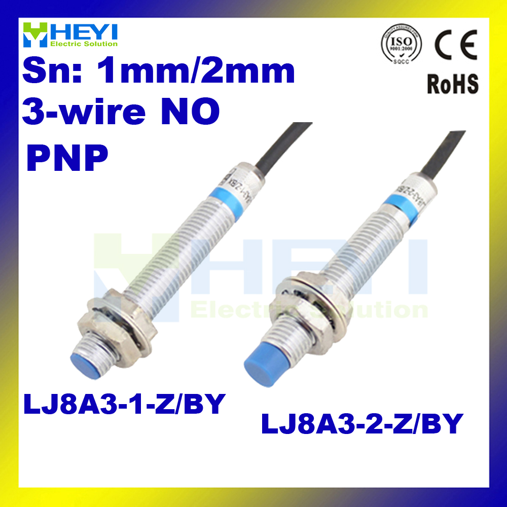 High Quality Metal Inductive Proximity Sensors Pnp No Sn 1mm Or 2mm Sensor 3 Wire Wiring Diagram Long Range Distance Lj8a3 1 Z By 2 In Switches From Lights