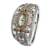 G&D New Luxury Brand Women Watches Silver Bracelet Watches Ladies Quartz Wristwatches Crystal Jewelry Gift relogio feminino Hour