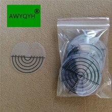 50 шт. наращивание волос Тепло fusion протектор щит шаблон диск Защита для головы