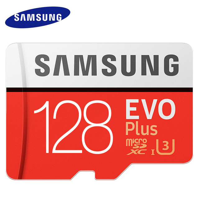Image 2 - SAMSUNG Memory Card Micro SD 256GB SDXC Grade EVO+ Class 10 C10 UHS TF Cards Trans Flash Microsd New-in Micro SD Cards from Computer & Office