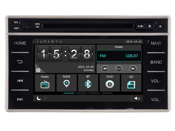 Car DVD Head unit For Toyota Hilux 2015 with Radio font b GPS b font DSP