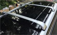 JIOYNG Car Roof Rack Rail baggage luggage Cross Bar For Toyota Highlander 2015 2016 2017 (With Lock) (Silver black)