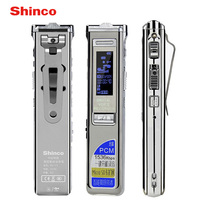 Shinco RV 11 Fast Charging 16GB Stereo Recording Digital Audio Voice Recorder Noise Reduction Professional Dictaphone