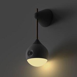 Image 5 - [HOT] oryginalna Sothing Sunny inteligentna inteligentna ludzka indukcja ciała LED light akumulator sterowanie głosem ręczne