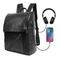 Для мужчин рюкзаки натуральная кожа 2018 школьные сумки для подростков мальчиков отдыха рюкзаки человек Путешествия Книги рюкзак сумка