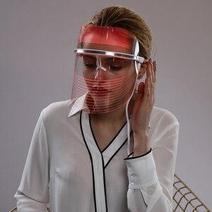 Image 5 - Led פנים מסכת טיפול עור התחדשות נגד הזדקנות פנים מסכת יופי סלון ביתי יופי Led טיפול מכונת לאישה איש