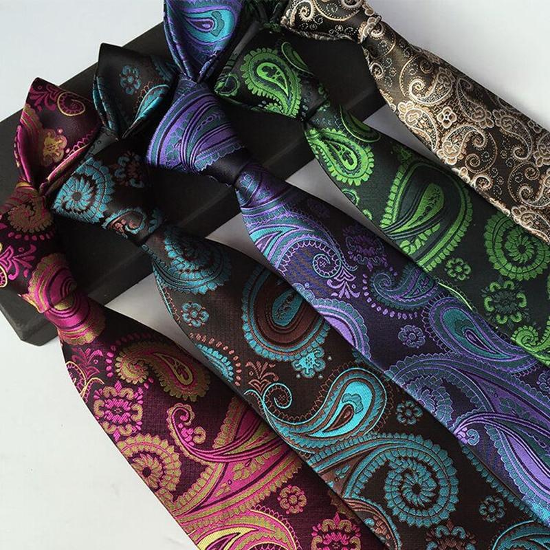 1pieces lot 100 Silk 2016 new men 39 s fashion jacquard paisley 8 cm tie break social work suit and tie for men in Men 39 s Ties amp Handkerchiefs from Apparel Accessories