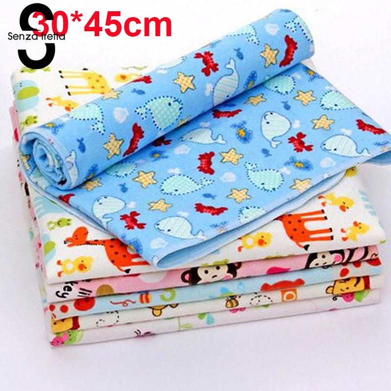 Newborn Baby Changing Pad Infant Child Bed Waterproof Cloth Diaper Inserts Crib Reusable Cotton Durable Washable Urine Mat Cover стоимость