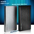 ACASIS 2.5 дюйма Внешний Жесткий Диск Коробка USB3.0 5 Гбит алюминиевого сплава ноутбук HDD Корпус Дело SATA Интерфейс С кабель