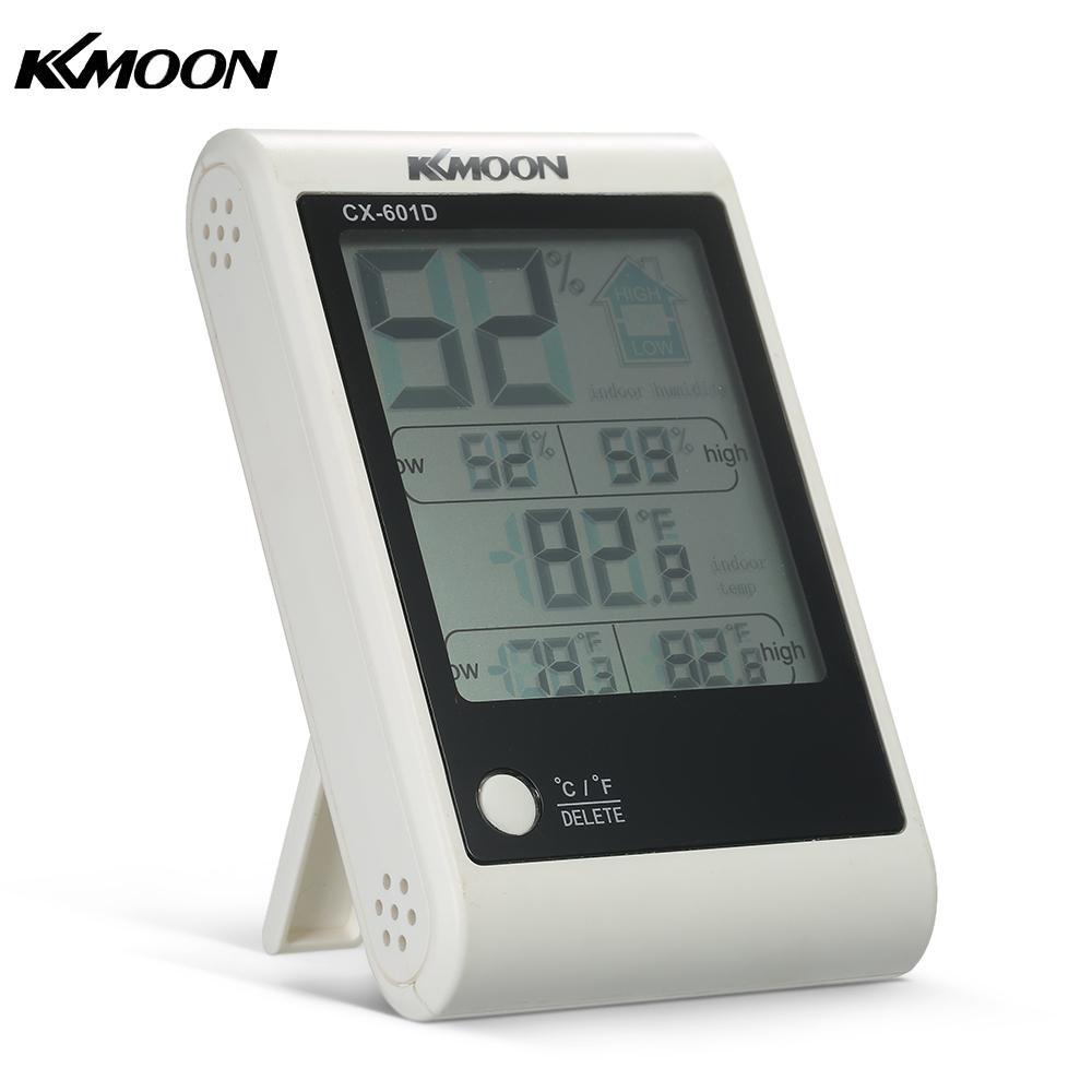 Temperatur Instrumente Digitale Thermometer Hygrometer Komfort Lcd Indoor Outdoor Temperatur-und Feuchtigkeitsmessgerät Für Home Cx-601d Hell Und Durchscheinend Im Aussehen