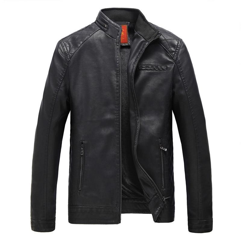 2017 핫 패션 남성 가죽 재킷 오토바이 가죽 재킷 windproof coat 가죽 재킷 무료 배송