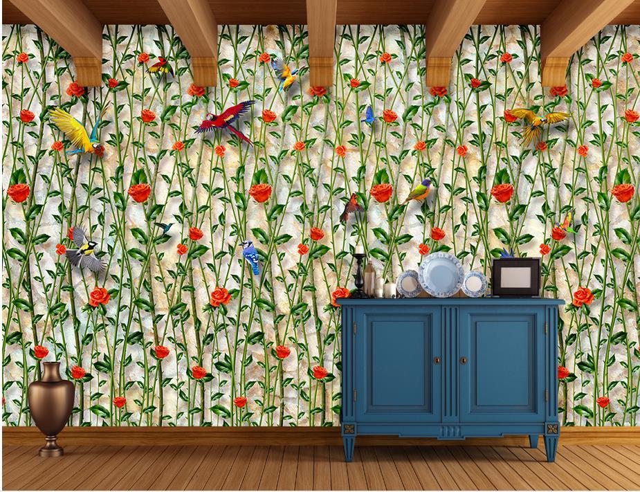 ФОТО customize 3d wallpaper walls Countryside wall papers home decor wall papers home decor living room wall paper rolls