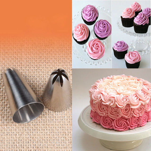 Large Size Cupcake Nozzle Decorating Tip Icing Nozzle Cake & Cupcake ...