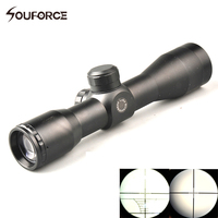 OD32mm Tactical 4X32 Compact Scope Reticle Hunting Riflescopes with Cross Hair Reticle Fits 20 mm Rail Mount