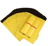 Stoccaggio bolsa Borse Corriere Autosigillante di Plastica Poly mailer Spedizione Busta/Mailing Borse/Colore Giallo di Plastica Postali Mailer
