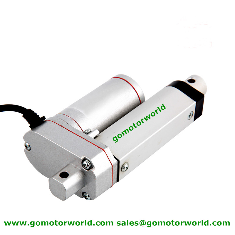 US $20 16  Best industry Linear Actuator 12V 24V 50mm Stroke 1600N load  90mm/s speed actuator linear -in DC Motor from Home Improvement on