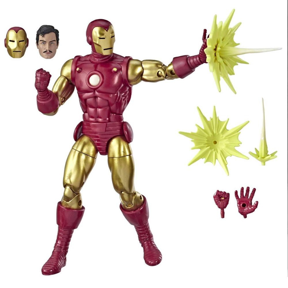 "Marvel Legends 80th Aniversary Series Classic Iron Man 6"" Loose Action FigureAction & Toy Figures   -"