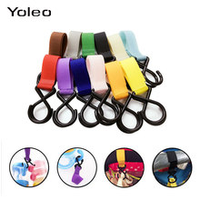 Children Stroller Hooks Infant Pram Pushchair Car Hanger Hanging Strap Convenient Plastic Baby Stroller Accessories baby stuff(China)