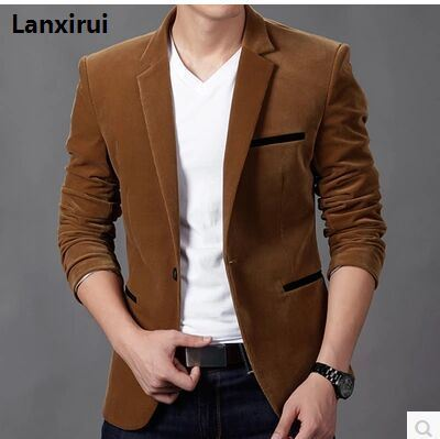 2018 Spring And Autumn New Fashion Casual Menswear Suit Jacket Casual Korean Slim Small Suit England