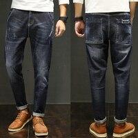 Zuolaiman Harem Jeans Men Robin Biker Overalls Fashion Men S Jeans Loose Designer Denim Pants Brand