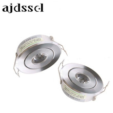 LED 1W 3W 6W MINI Round High Power Recessed Ceiling Down Light Lamps Downlights for Living Room Cabinet Bedroom