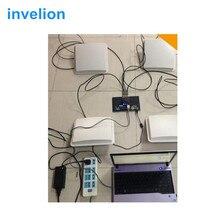 865Mhz Impinj R2000 lange bereich uhf rfid modul passive feste rfid uhf reader 915mhz kostenloser dogbone rfid label probe für timing