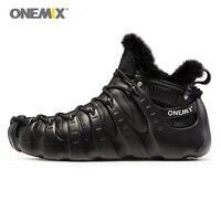 Onemix Winter Boots For Men Walking Shoes For Women Outdoor Trekking Shoe No Glue Sneakers Autumn