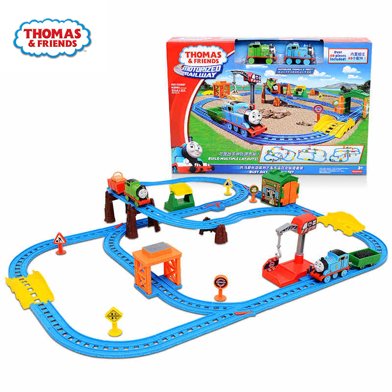 Original Brand Changeable Suit Pathway Train Track Model Car Diecast Boy Toys For Children