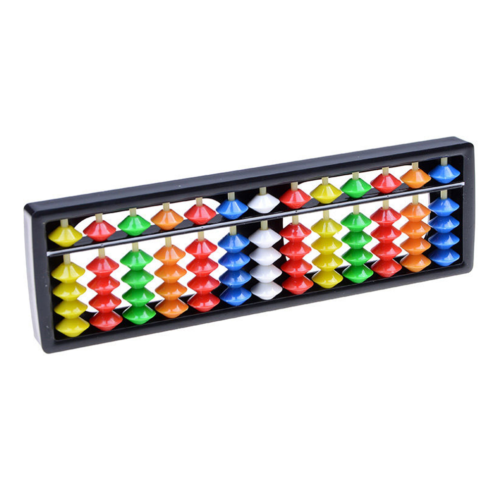 2019 Hot 13 Column Plastic Color Child Abacus Delicate Small Childrens Funny Develop Toy Wholesale Drop Shipping