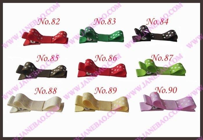 """500 шт 1,7"""" Разноцветные эксклюзивные заколки для волос для девочек венок банты"""