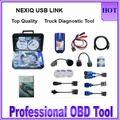 Последним NEXIQ Usb Link 125032 Грузовик Дизель Интерфейс Программного Обеспечения Полный Комплект Nexiq 125032 USB Link Программное Обеспечение Высокого Качества DHL