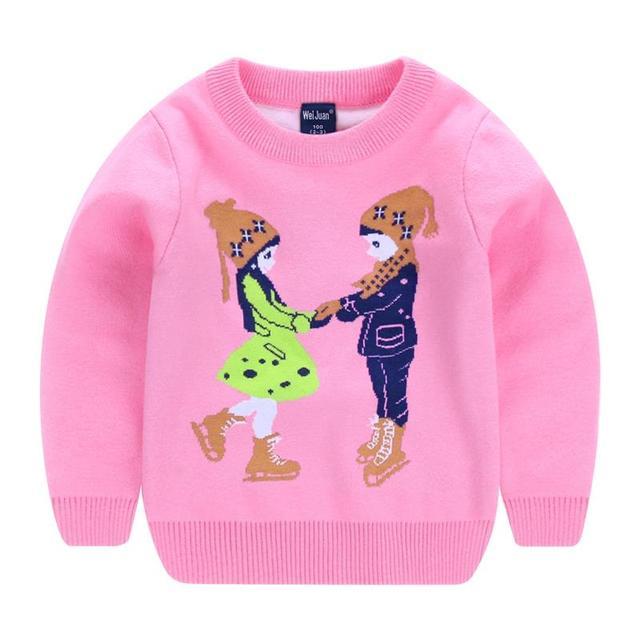 4caab1c99c1e Kids Clothes Baby Girls Boys Sweater New Autumn Winter Children s ...
