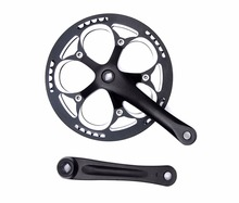 bike Crankset Bicycle Parts mountain BMX Cranks chain wheel BCD130mm square hole 52T single speed MTB chainwheel