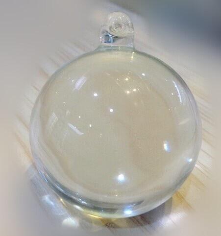 10db / tétel 30 mm-es Crystal Suncatcher Ball Crystal Függőgolyó X'mas Esküvői medál Kristályprizma medál Ingyenes házhozszállítás