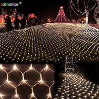8x10m 2600 SMD LED network lights Luminaire indoor/outdoor landscape lighting Christmas New Year garlands waterproof LED string