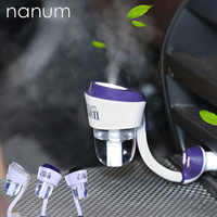 12V II Auto Luftbefeuchter mit 2 USB Auto Ladegerät Ports Auto lufterfrischer Purifier Aroma Öl Diffusor Aromatherapie nebel Fogger