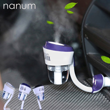 12V II Car Air Humidifier with 2 USB Car Charger Ports Car air freshener Purifier Aroma Oil Diffuser Aromatherapy Mist Fogger цена 2017
