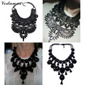 Vedawas 2016 New Fashion Jewelry Women Maxi Necklace Vintage Style Long Tassel Rhinestone Bead Statement Necklace Wholesale 2154