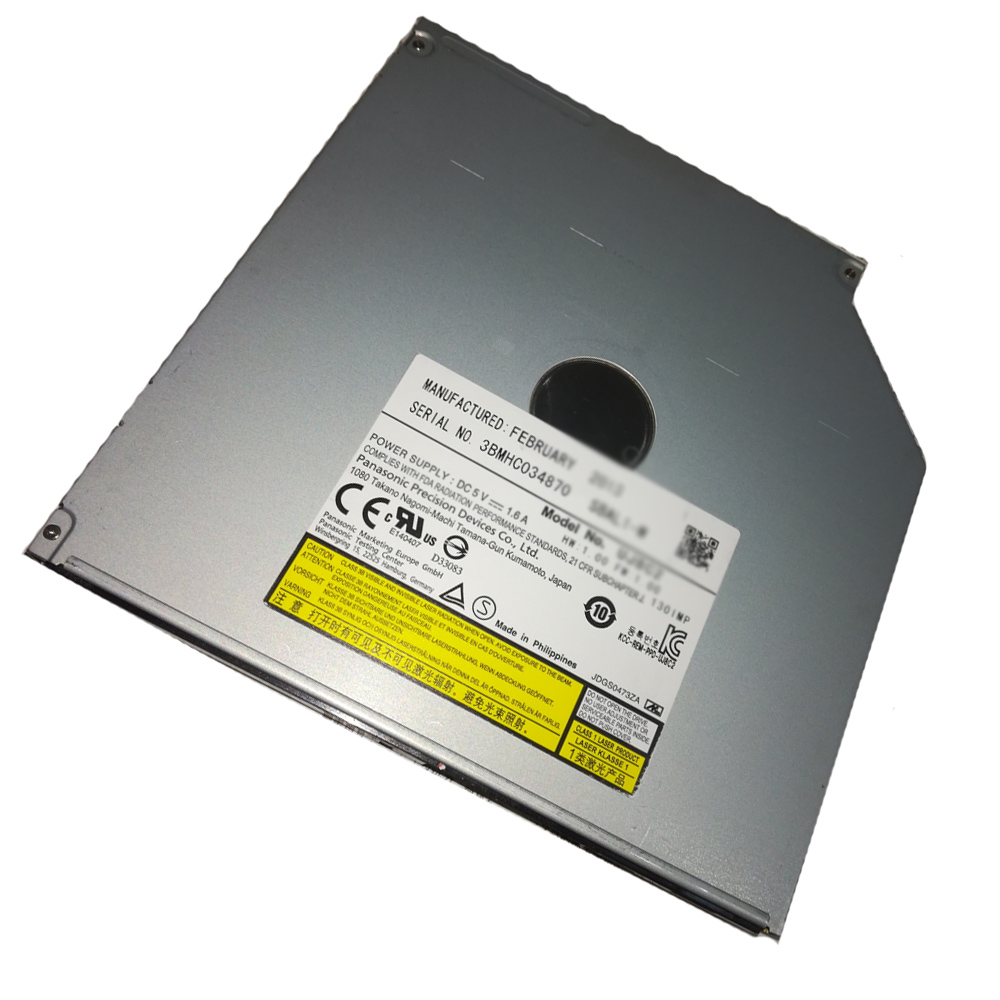 New 9.5mm TSSTcorp CDDVDW SU 208FB CD DVD Drive Burner Computer