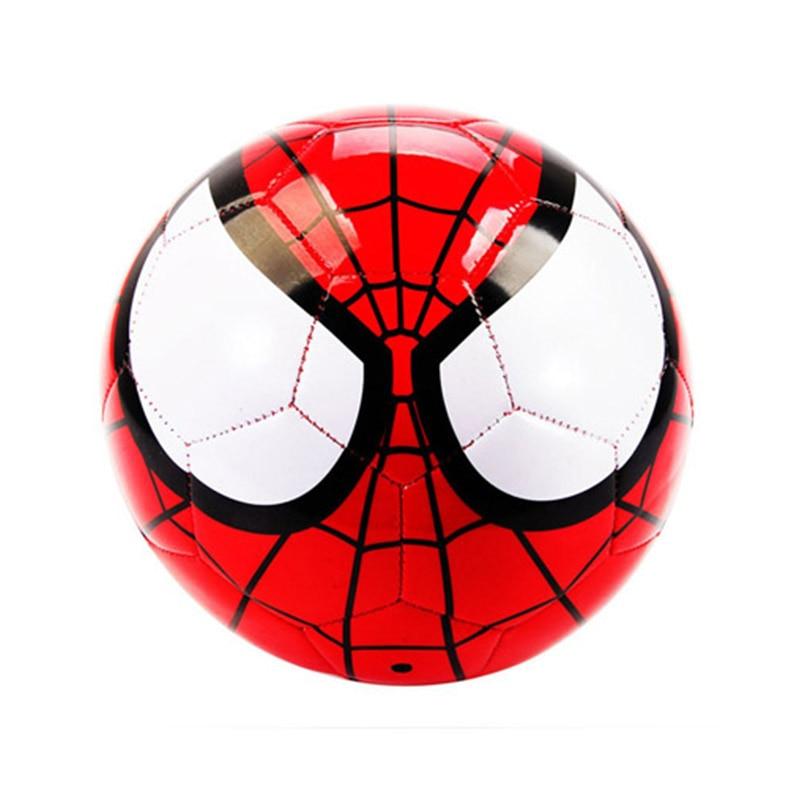 Marvel Avengers Spider Man Performance Football Balls PVC Outdoor Indoor Size 5 Games 3D Soccer Ball Football
