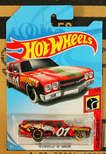New Arrivals 2017 8a Hot Wheels 1:64 70th chevelle ss wagon Car Models Collection Kids Toys Vehicle For Children