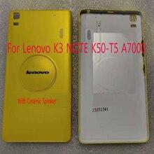 Housing A7000 Lenovo Back-Cover NOTE Battery-Door for K3 with Ceramic-Speaker Teana-Version