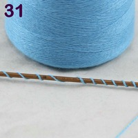 Sales 1X100g high quality 100% pure cashmere warm soft hand woven tower yarn SkyBlue 26231