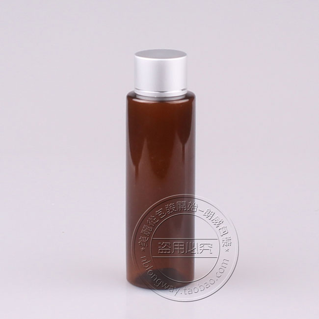 Skin Care Tools Free Shipping Capacity 100ml 30pcs/lot Flat Shoulder Foil Cover Ordinary Bottles Of Coke Bottle Cap,plastic Bottle,pet Bottle Clear-Cut Texture Refillable Bottles