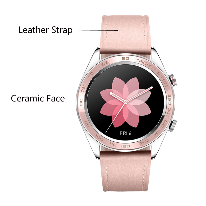 Huawei Honor Watch Dream ceramic face smartWatch NFC GPS 5ATM WaterProof Heart Rate Tracker Sleep Tracker Working 7 Days-in Smart Watches from Consumer Electronics    2