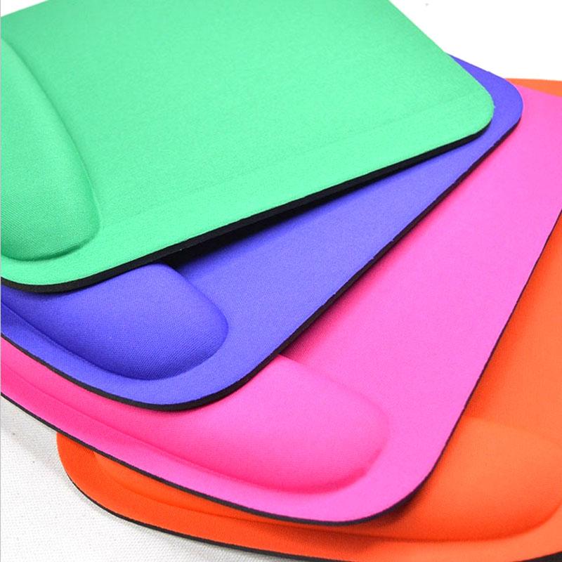 Top Selling Thicken Square Comfy Wrist Mouse Pad For Optical/Trackball Mat Mice Pad Computer
