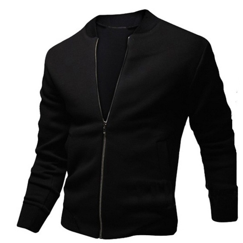 ZOGAA Spring Autumn Men's Zipper Jacket Casual Streetwear Hip Hop Slim Fit Coat Men Clothing Plus Size Mens Coats And Jackets